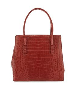 Nancy Gonzalez | Crocodile Medium Triple-Gusset Tote Bag