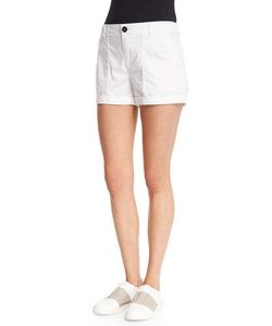 Vince | Patch Mid-Rise Shorts