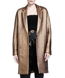 Donna Karan | Burnished Easy Coat