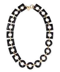 Ashley Pittman | Mbele Geometric Dark Horn Link Necklace