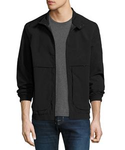 MARC NEW YORK by ANDREW MARC | Caton Crinkle-Shell Bomber Jacket