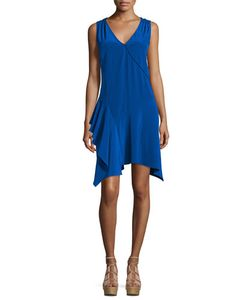 Derek Lam 10 Crosby | Sleeveless Asymmetric Draped Tank Dress