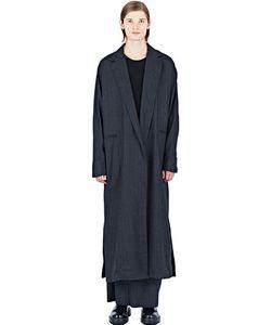 Thamanyah   Long Pinstripe Coat