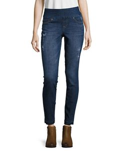 True Religion | Cora Embellished Cropped Jeans