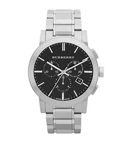 Burberry | Brushed Stainless Steel Chronograph Watch