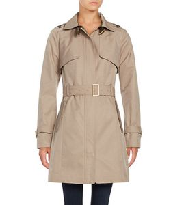 Cole Haan Signature | Hooded Trenchcoat