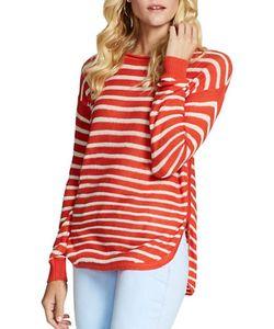 Jessica Simpson | Misty Long Sleeve Cotton Sweater