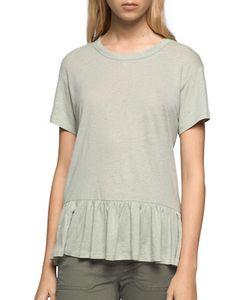 Calvin Klein Jeans | Heathe Peplum Top