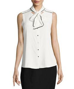 Calvin Klein | Tie-Front Blouse