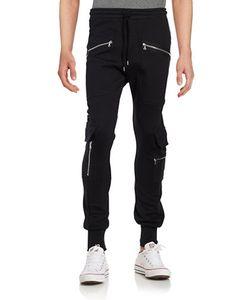 Markus Lupfer | Ryan Zip Accented Jogger Pants