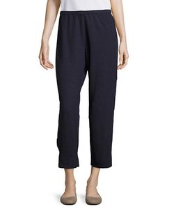 Eileen Fisher | Cropped Straight-Leg Pants