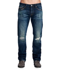 Cult Of Individuality | Rebel Straight Leg Jeans