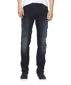 Calvin Klein Jeans | Slim-Fitwashed Moto Jeans