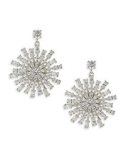 Carolee | Something Borrowed Cubic Zirconia Chandelier Pierced Earrings