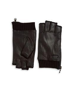 John Varvatos | Leather Zip Gloves
