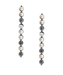 Nanette Lepore | Faux Pearl Beaded Stud Earrings