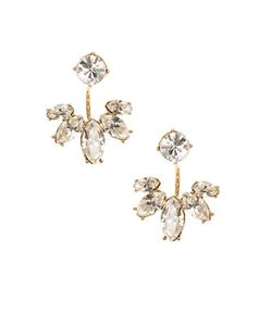 Marchesa | Marquise And Crystal Floater Earrings