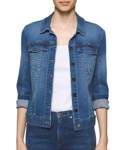 Calvin Klein Jeans | Studded Denim Trucker Jacket