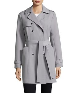Kenneth Cole New York | Double-Breasted Trench Coat