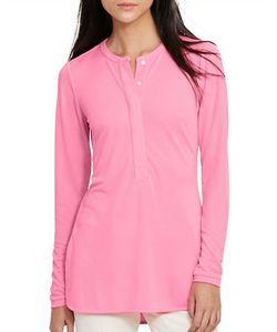 Lauren Ralph Lauren | Petite Heidi Striped Knit Oxford Shirt