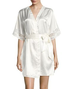 Flora By Flora Nikrooz | Lace-Trimmed Robe