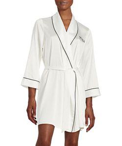 Kate Spade New York | Long Sleeve Embroide Robe