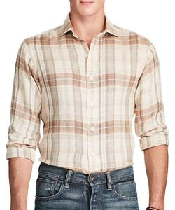 Polo Ralph Lauren | Plaid Linen Sport Shirt