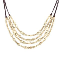 Lucky Brand | Key Item Beaded Collar Necklace