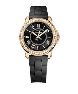 Juicy Couture | Ladies Pedigree Tone And Silicone Watch