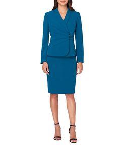 Tahari Arthur S. Levine | Shawl Collar Jacket And Skirt Set