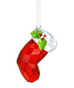 SWAROVSKI | Crystal Santas Stocking Ornament