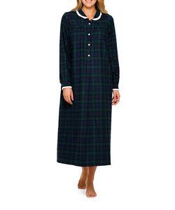 Lanz   Cotton Flannel Ballet Nightgown