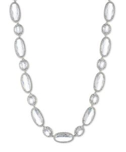 Jenny Packham | Cubic Zirconia And Crystal Collar Necklace