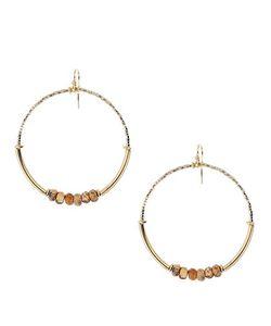 Chanluu | Beaded Hoop Earrings2in