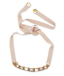Jenny Packham | Chain And Stone Necklace