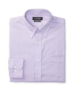 Lauren Ralph Lauren | Slim-Fit Stretch-Oxford Dress Shirt