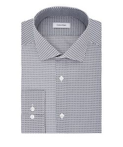 Calvin Klein | Slim-Fit Printed Dress Shirt