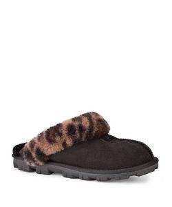 UGG | Coquette Leopard-Print Sheepskin Slippers