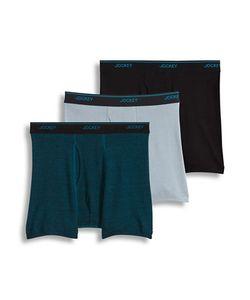 Jockey | 3-Pack Essential Fit Staycool Plus Boxer Brief