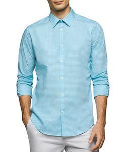 Calvin Klein | Shadow Check Cotton Shirt