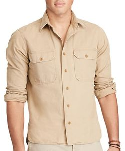 Polo Ralph Lauren | Cotton Twill Utility Shirt