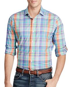 Polo Ralph Lauren | Plaid Cotton Poplin Standard-Fit Shirt