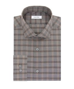 Calvin Klein | Slim Fit Plaid Dress Shirt