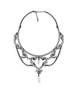 Jenny Packham | Crystal Rose Opal Pendant Necklace