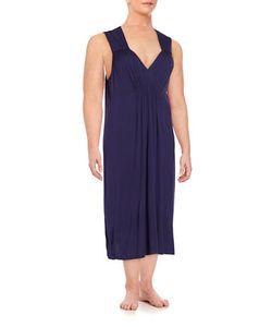 Oscar de la Renta   Plus Pleated Nightgown