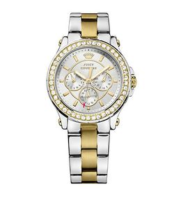 Juicy Couture | Ladies Pedigree And Crystal Watch