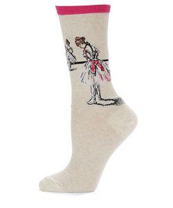 Hot Sox | Ballerina Print Socks