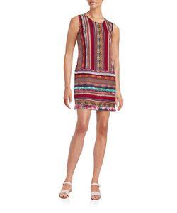 Anna Sui | Sleeveless Roundneck Striped Dress