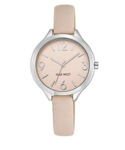 Nine West | Round Dial Watch With Strap