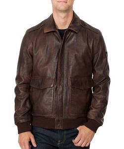 Boston Harbour | Vintage Leather Flight Jacket